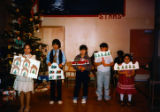Christmas play in the Igiugig school.