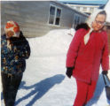 Annie Wilson with Sally Peterson in Dillingham.