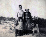 Mary, Nick and Annie Newyaka.