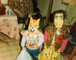 Christina Salmon and sister Alexanna Salmon pose for a Halloween photo.