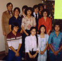 Igiugig Christmas program photograph 1981.