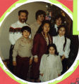 Wilson family Christmas photograph 1981.
