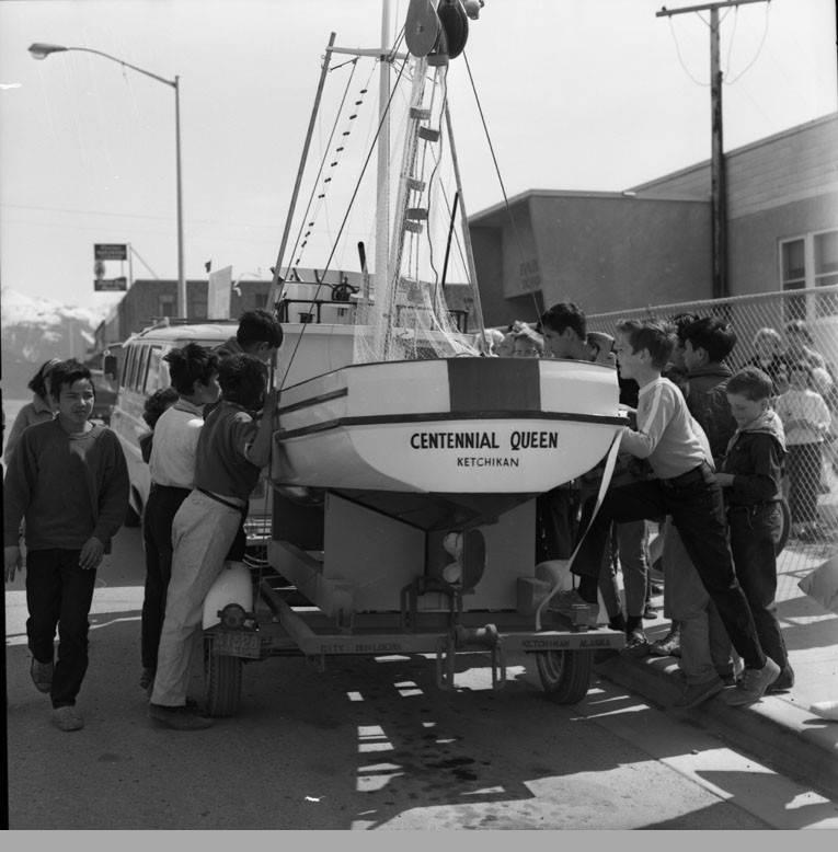 Boat 'Centennial Queen ' - Anchorage Museum at Rasmuson